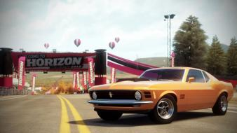 Ford mustang boss 429 1970 forza horizon wallpaper
