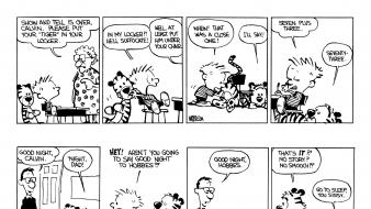Funny calvin and hobbes 1985 Wallpaper