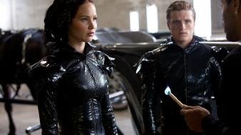 Hunger games josh hutcherson peeta movie stills wallpaper