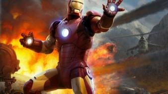 Iron man artwork marvel comics the avengers wallpaper