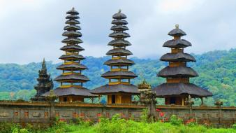 Landscapes buildings indonesia bali Wallpaper
