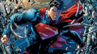 Man of steel the new 52 unchained wallpaper