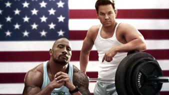 Mark wahlberg dwayne johnson pain and gain Wallpaper