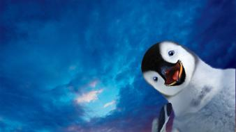 Movie posters happy feet 2 Wallpaper