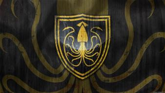 Octopus game of thrones sigil house greyjoy wallpaper
