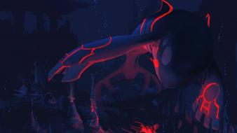 Pokemon lava artwork underwater kyogre wallpaper