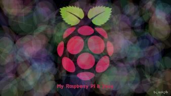 Rasberries raspberry pi wallpaper