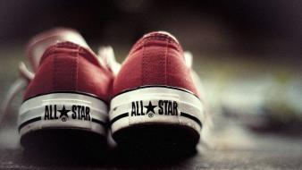 Shoes converse sneakers all star red wallpaper