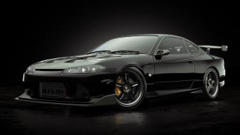 Simple background nismo black cars s15 jdm wallpaper