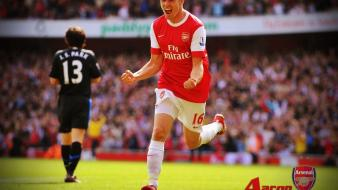 Soccer athletes football player aaron ramsey wallpaper