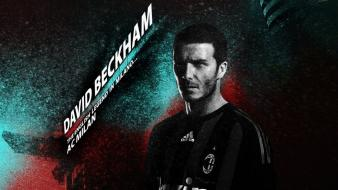 Soccer david beckham athletes ac milan football player wallpaper