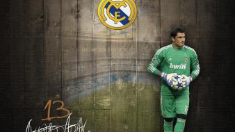 Soccer real madrid athletes goalkeeper adan football player wallpaper