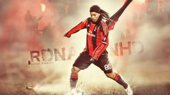Soccer ronaldinho ac milan football player wallpaper