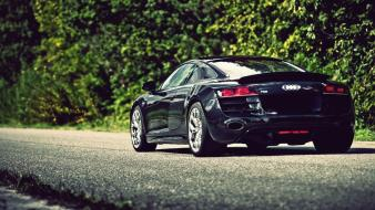 Streets cars audi r8 v10 wallpaper