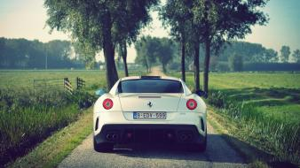 Streets cars ferrari farms 599 gto Wallpaper