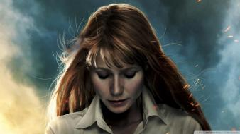 Suit gwyneth paltrow pepper potts iron man 3 wallpaper
