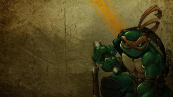 Teenage mutant ninja turtles michaelangelo wallpaper