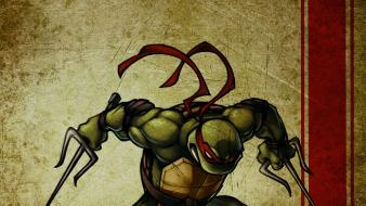 Teenage mutant ninja turtles raphael sai wallpaper