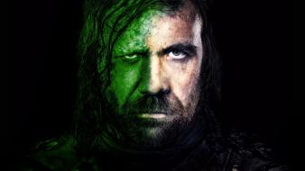 Tv series faces sandor clegane the hound wallpaper