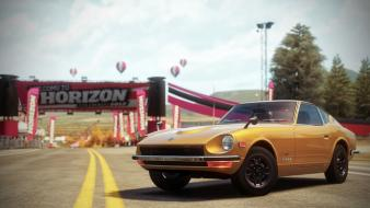 Video games 1969 nissan fairlady z forza horizon Wallpaper