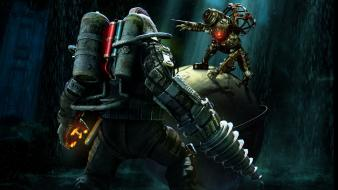 Video games bioshock game wallpaper