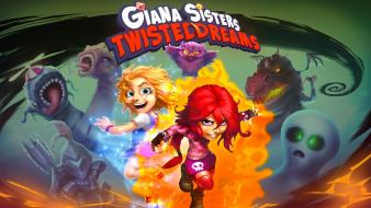Video games dreams sisters twisted giana sisters: Wallpaper