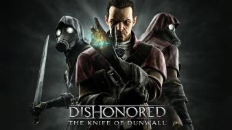 Video games gas masks dishonored Wallpaper