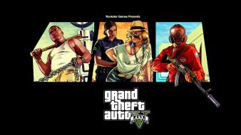 Video games grand theft auto rockstar v 5 wallpaper