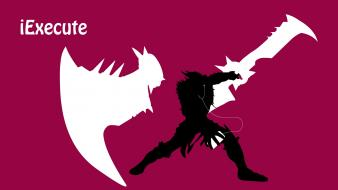 Video games ipod league of legends draven wallpaper