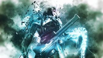 Video games raiden solid rising rising: revengeance wallpaper