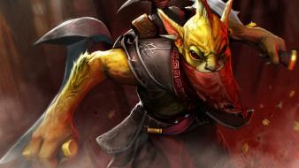 Video games valve corporation bounty hunter dota 2 wallpaper