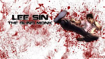 White league of legends lee sin wallpaper