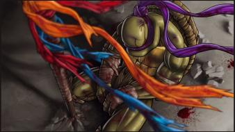 Art donatello artwork bandages stick brothers grief wallpaper