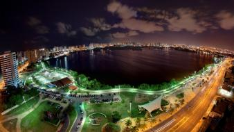 Brazil roads long exposure lakes hdr photography wallpaper