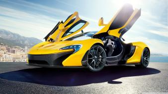 Cars 2014 yellow mclaren p1 wallpaper