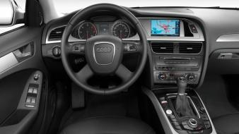 Cars audi interior vehicles 2008 a4 german wallpaper