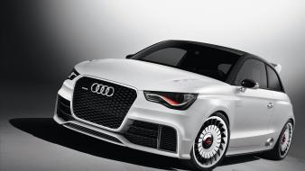 Cars audi vehicles a1 clubsport quattro white wallpaper