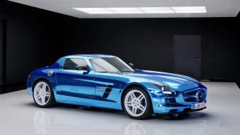 Cars electric coupe 2014 sls amg mb wallpaper