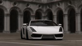 Cars graphic design lamborghini gallardo lp570-4 performante Wallpaper