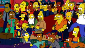 Cartoons the simpsons drawings wallpaper
