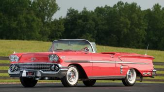 Chevrolet convertible impala 1958 wallpaper