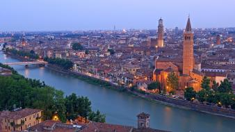 Church italy anastasia verona santa wallpaper