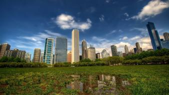 Cityscapes chicago low-angle shot skies Wallpaper