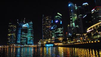 Cityscapes district singapore business Wallpaper