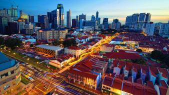 Cityscapes singapore chinatown Wallpaper