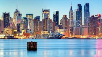 Cityscapes usa new york city cities wallpaper