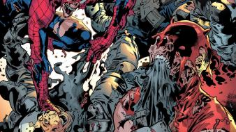 Comics spider-man zombies daredevil marvel wallpaper