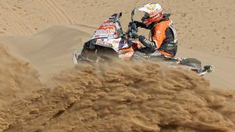 Desert rally racing dakar peter lusk wallpaper