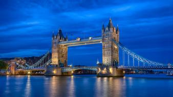 England london united kingdom tower bridge rivers wallpaper