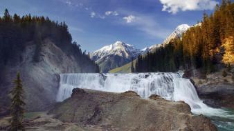 Falls british columbia national park kicking wallpaper